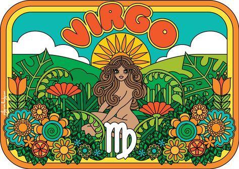 Virgo Rectangular Pillow by pilgrimlee Virgo Rectangular Pillow by Pilgrim Hodgson – Small x Virgo Art, Virgo Horoscope, Zodiac Art, Virgo Zodiac, Monthly Horoscope, April Horoscope, Hippie Vintage, Virgo Constellation Tattoo, Hippie Art