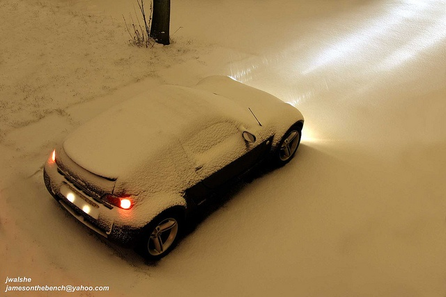 Smart Roadster - Spikline Neige by Aurélien Calay, via Flickr