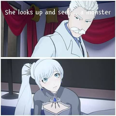RWBY: She Looks Up and Sees a Monster
