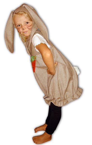 Kostüme für Kinder - Kostüm Hase Faschingskostüm Mädchen 1 1/2 -5 Jahre - ein Designerstück von ELEMENTS-design bei DaWanda