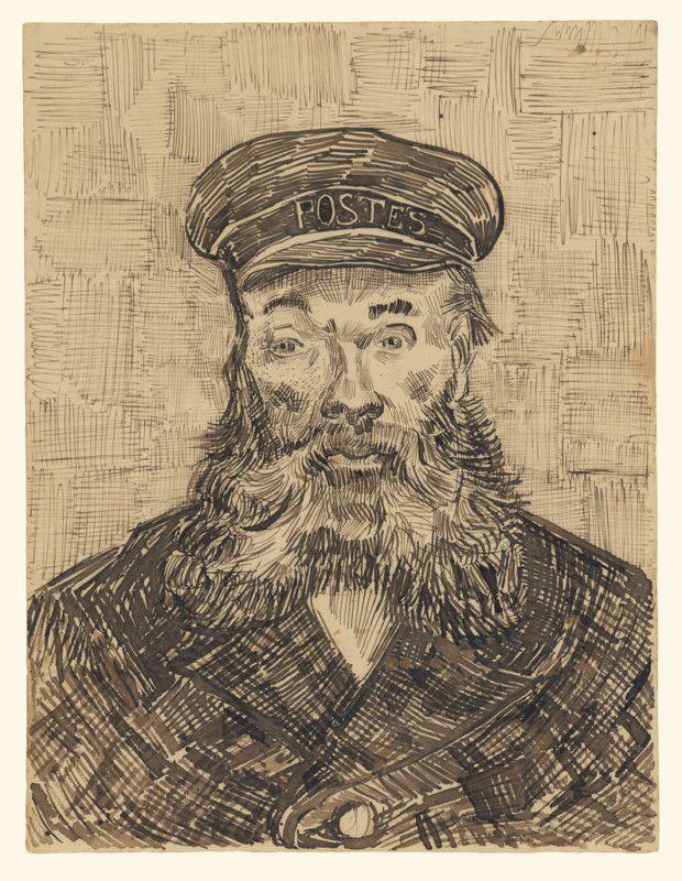 Vincent van Gogh, Portrait of Joseph Roulin, 1888, The J. Paul Getty Museum, Los Angeles
