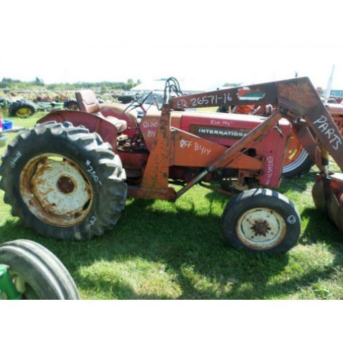 International B414 Parts : Used international b tractor parts eq call