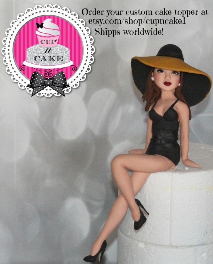 Fondant cake topper - Cake by Danielle Lechuga