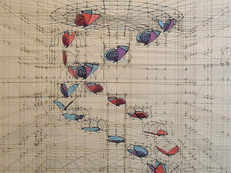 Wildly Detailed Drawings That Combine Math and Butterflies | Rafael Araujo creates hyper-detailed drawings of nature.   Rafael Araujo  | WIRED.com