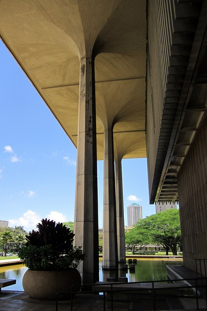The Hawai'i State Capitol, located at 415 South Beretania Street, was constructed at the direction of Governor John A. Burns and designed by the firms of Belt, Lemmon & Lo of Honolulu, John Carl Warnecke & Associates and Architects Hawai`i. It was bu Discounted Hotels! Check out this awesome Hotel Comparison Site I found = >  http://search.SearchCheapHotelsNow.com/City/Bali.htm