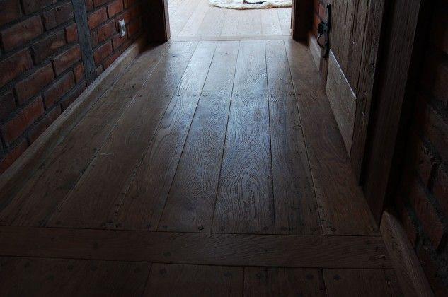 Podłoga drewniana w domu