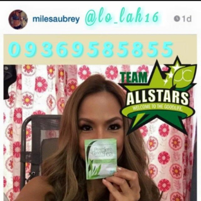 Celebrity distributor Ms. Aubrey Miles is a Proud Team Allstars! Premiere Green Tea with Psyllium Husk cleanses our toxic colon and helps prevent colon cancer. Good thing is that, Ms Aubrey Miles and I enjoy all products at buy1take1 and why is that? Dahil members kame. With JC Premiere, we become healthy and wealthy and we earn in 6 ways! We get our consumption for Free! Fosh! San Kapa?! Maganda ba? o Napaka ganda? #positivity #jcpremiereallstars #gellofjcpremiere #Godgotme