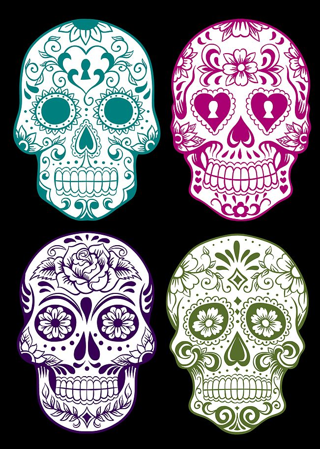 White House Crafts | DAY OF THE DEAD FREE PRINTABLES