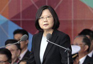 Taiwanese president Tsai Ing-wen speaks with Don the Con - What does she expect to get - certainly NOT good advice ! ?