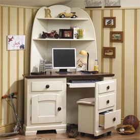 17 best images about corner desk on pinterest robins better homes and gardens and hooker - Corner secretary desk with hutch ...