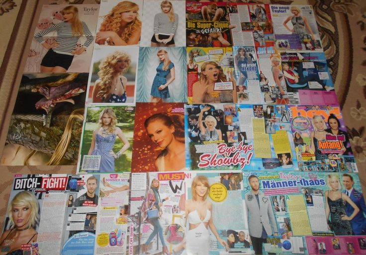 Taylor Swift - Magazine Posters Clippings Collection # 2