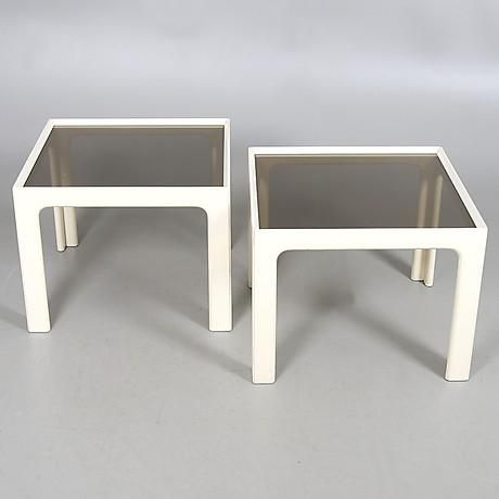 Side Tables (a pair)