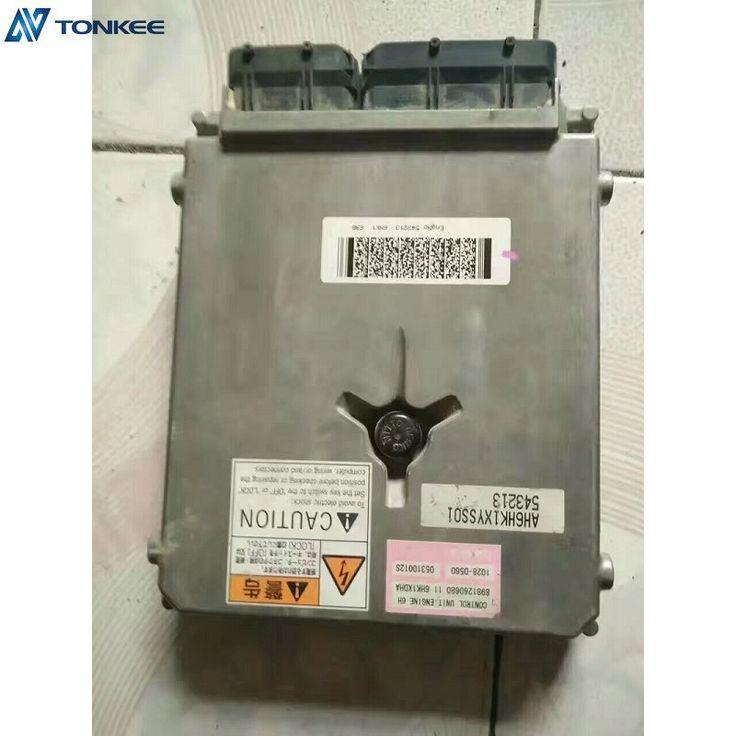 JS210 electric controller 4HK1XYSJ-02 4HK1XYSJ engine controller 8981260560 JS200LC ECU for excavator