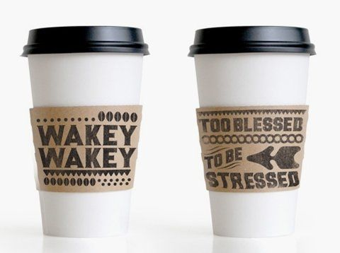 i will love to have coffee cup sleeves like these!