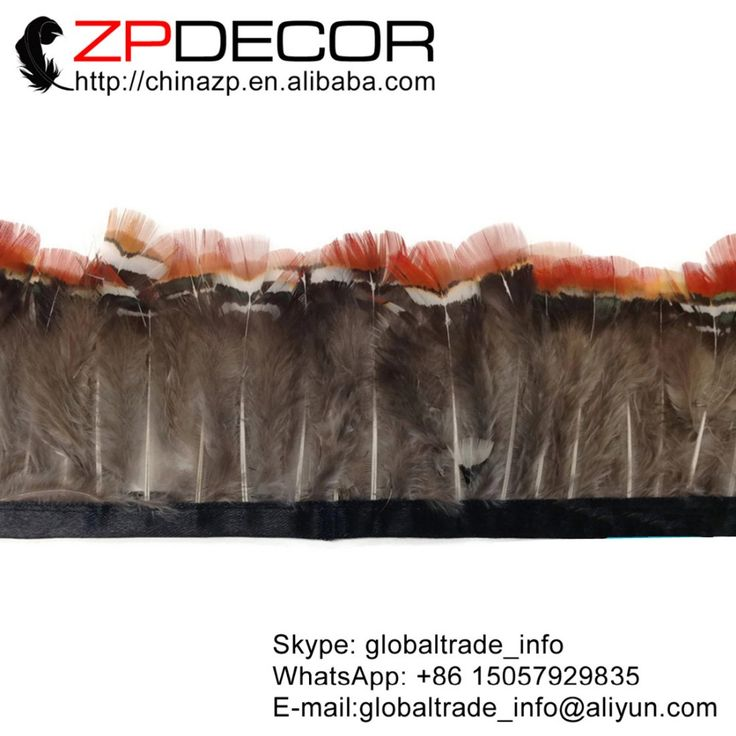 Find More Feather Information about Retail and Wholesale from ZPDECOR 10yards/lot 5cm(2inch) Natural RED Lady Amherst Pheasant Plumage Feather Trim,High Quality trim moulding,China feather lamp Suppliers, Cheap feather keychain from Shop2184055 Store on Aliexpress.com