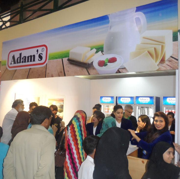 Thanks for such a wonderful response at the Dawn Lifestyle Expo in Karachi #Karachi #Adams