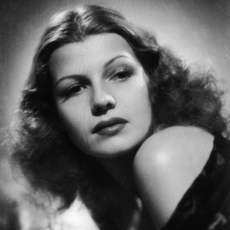 American film actress Rita Hayworth is best known for her stunning explosive sexual charisma on screen in films throughout the 1930s and 1940s.