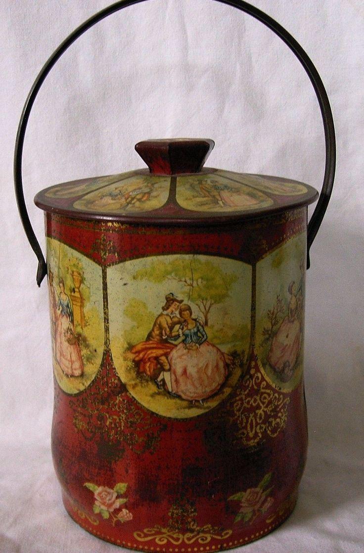 Vintage Murray Allen confectionery tin