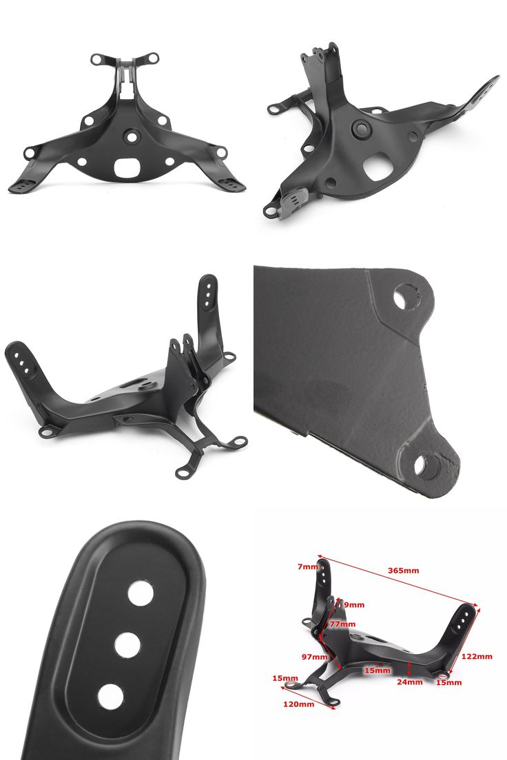 [Visit to Buy] Cowling Front Upper Fairing Stay Bracket for Yamaha /YZF R1 2004 2005 2006 Black #Advertisement