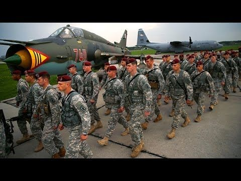 Video: US troops put boots on Polish ground as Ukraine crisis spirals