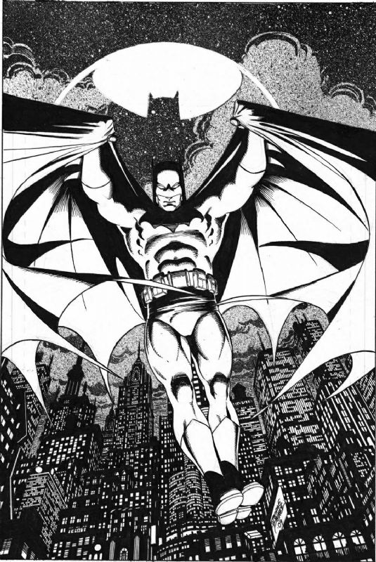 Batman by George Perez #dccomics #comics #batman