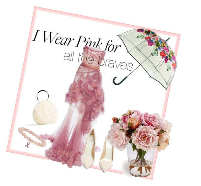 """Pink for every spirit"" by bernadett-soos on Polyvore featuring Vera Bradley, Marchesa and Francesco Russo"