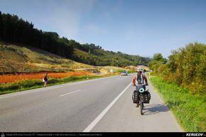 Traseu cu bicicleta MTB XC El Camino de Santiago del Norte - 4: Colombres - Llanes - Ribadesella - San Esteban Leces . MTB Ride El Camino de Santiago del Norte - 4: Colombres - Llanes - Ribadesella - San Esteban Leces - Asturia, Spania