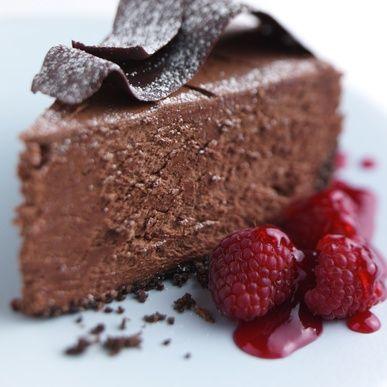 Faux Gâteau au Fromage et Chocolat