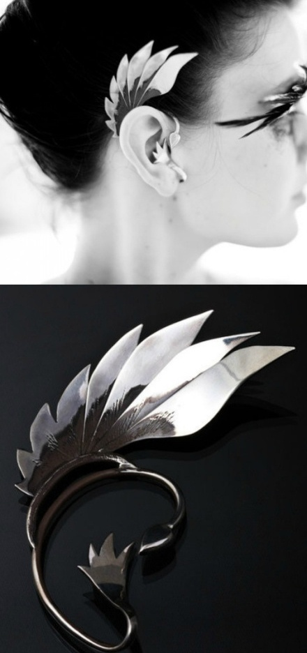 [[winged ear wrap]] Forest Elves' style