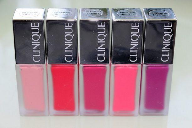 Clinique Pop Liquid Matte Lip Colour + Primer Review & Swatches