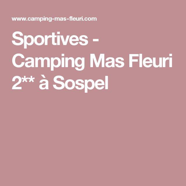 Sportives - Camping Mas Fleuri 2** à Sospel
