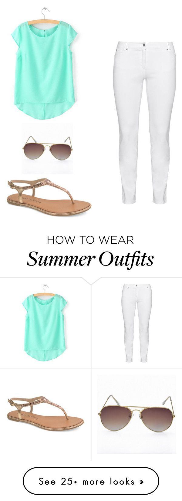 """""""Summer outfit"""" by nichellerenea on Polyvore featuring Steilmann and Chinese Laundry"""