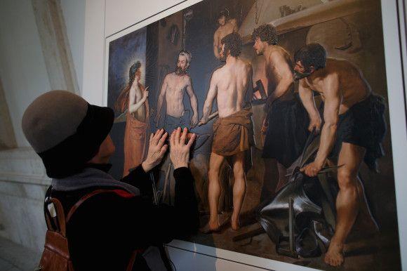 """La stampa 3D rivoluziona la fruizione dell'arte: con """"Hoy toca el Prado"""" sei quadri della collezione del Prado possono essere toccati da chi non può vederli"""