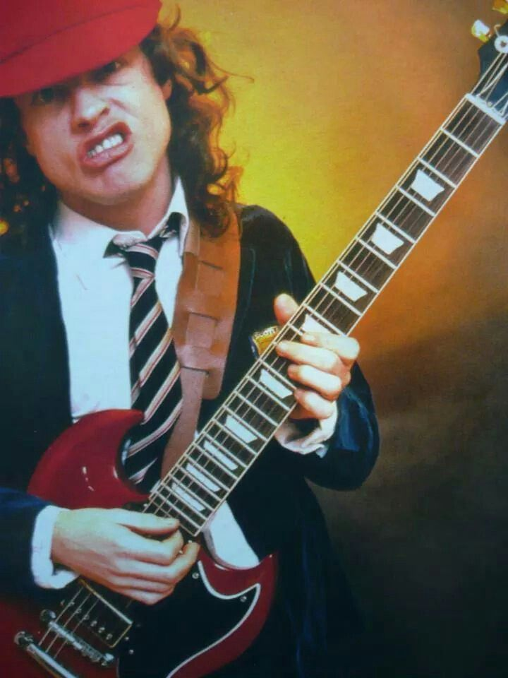 Angus Young. I need this as a poster in my room