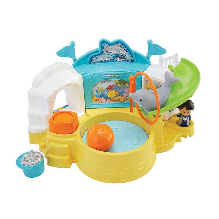 Luxury Fisher Price Little People Aquarium Visit Toys R Us Australia