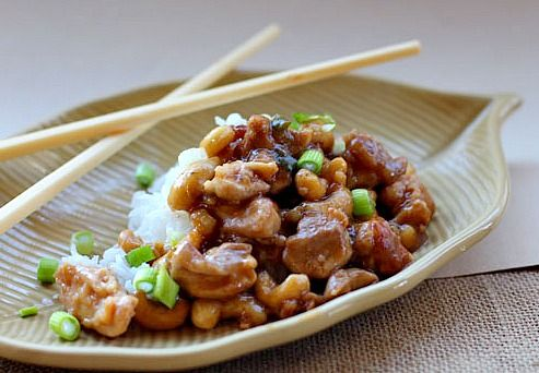 ... Asian Food on Pinterest | Pork, Cashew chicken and Kung pao chicken
