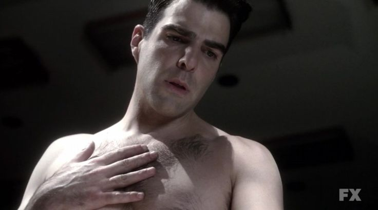 Zachary Quinto... Shirtless