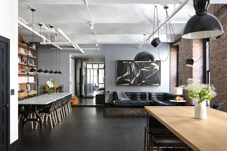 Loft industriel à New York
