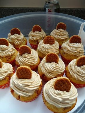 Elke Hap: Stroopwafel cupcakes