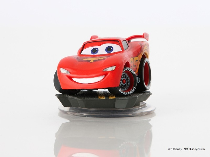 Disney Infinity Figure: Lightning McQueen (Wave Cars Play Set, Included in  Play Set)