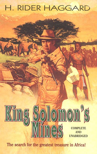 king solomons mines   Rider Haggard King Solomon's Mines