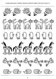 Výsledek obrázku pro pracovní list stejný tvar