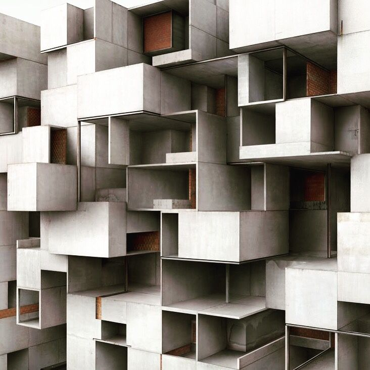 Cité Radieuse, Marseille, 1947-1952 / Architecture by Le Corbusier / bauhaus-movement.com
