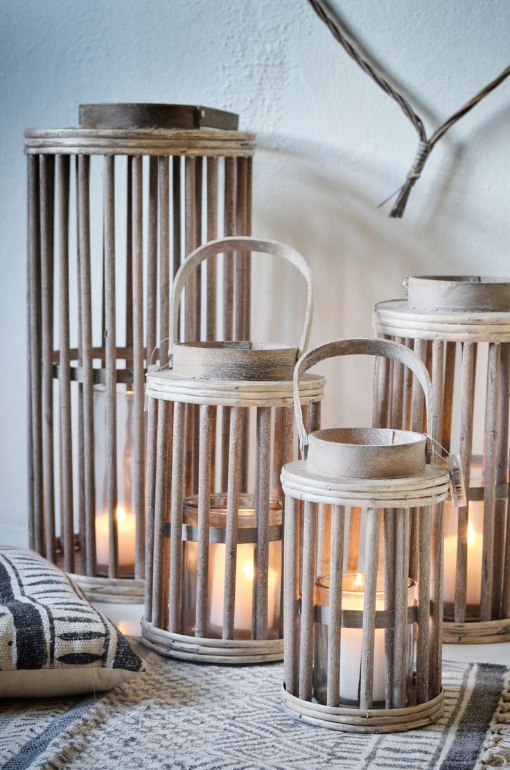 rustic lanterns <3