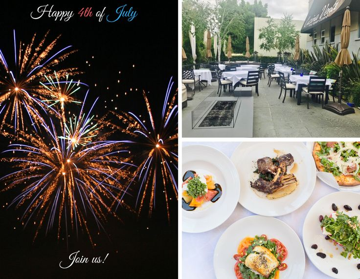 Join us for 4th of July! Have a delicious dinner and glass of wine before going to Shoreline Amphitheatre for the SF Symphony Concert or stay and watch the fireworks from our patio. Reservations are highly recommended https://www.opentable.com/r/cucina-venti-mountain-view