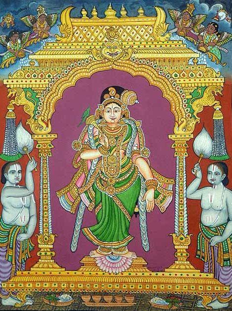 Appearance of Sri Godadevi