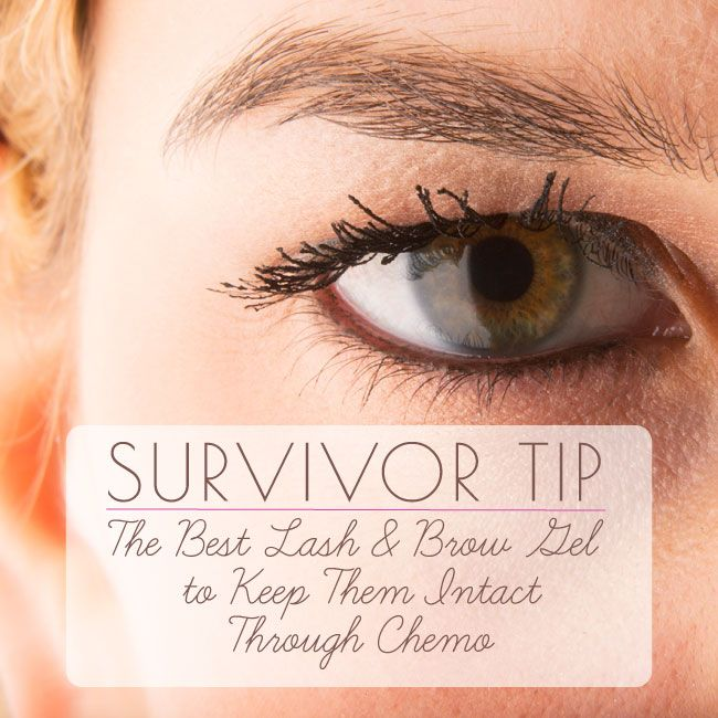 Best tips and advice for keeping your lashes and brows during chemotherapy.