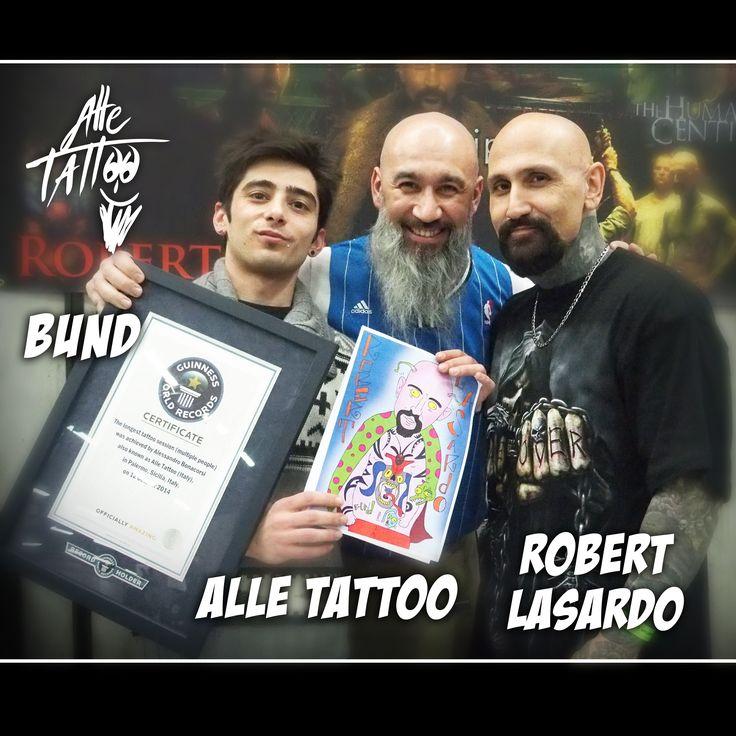 Bellissima convention con star di Hollywood, tatuatori spettacolari e clienti eccezionali, molto felici del risultato... e adesso ci aspetta una mega cena con tutti i tatuatori!!!