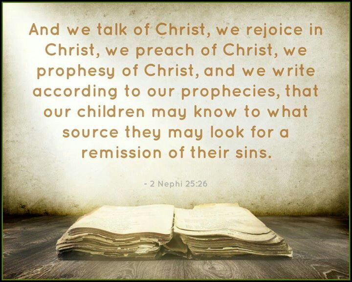 Image result for 2 Nephi 25:26