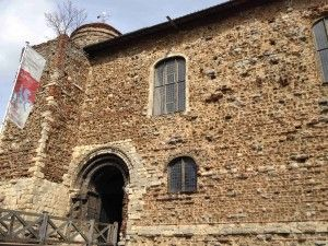 Colchester Castle, Colchester, Essex. Former roman capital.  William I built tower similar design to London's, constructed on ruins of old temple to Claudius.